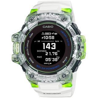【CASIO 卡西歐】G-SHOCK 太陽能GPS心律運動錶(GBD-H1000-7A9)
