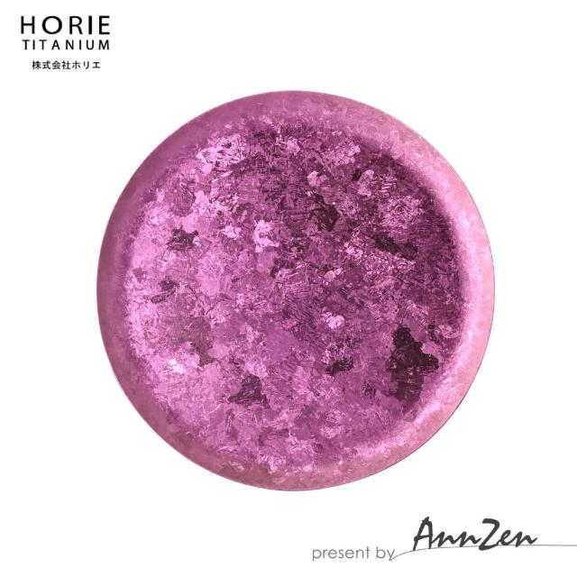 【AnnZen】《日本製 Horie》鈦愛生活系列-純鈦香氛盤 櫻(香氛 精油 蠟燭 置物)