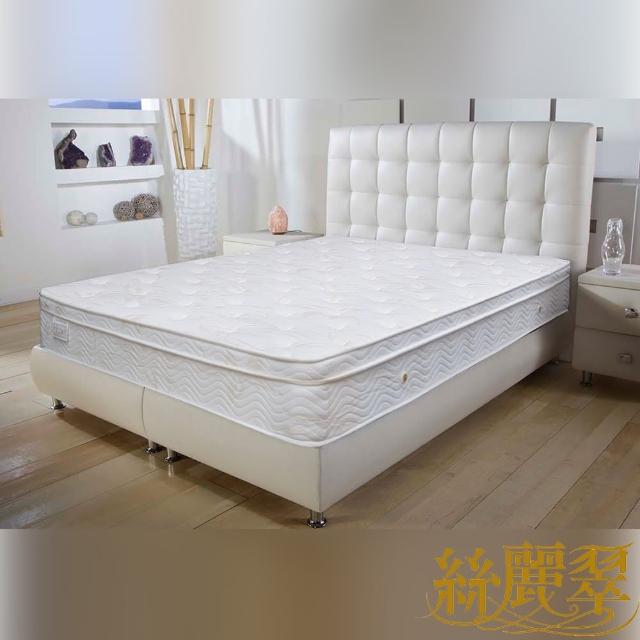 【絲麗翠】3S彈力棉感 雙人5尺獨立筒床墊