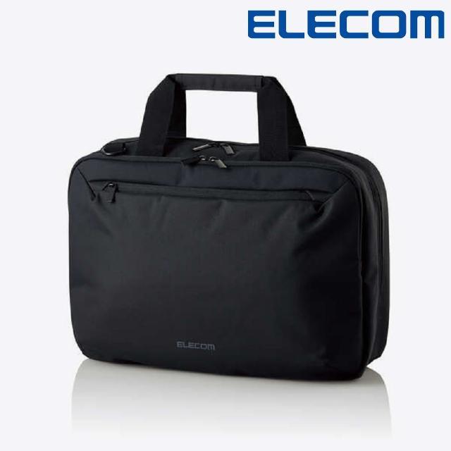 【ELECOM】大容量兩用公事包-黑(ELBMBSBGBK)