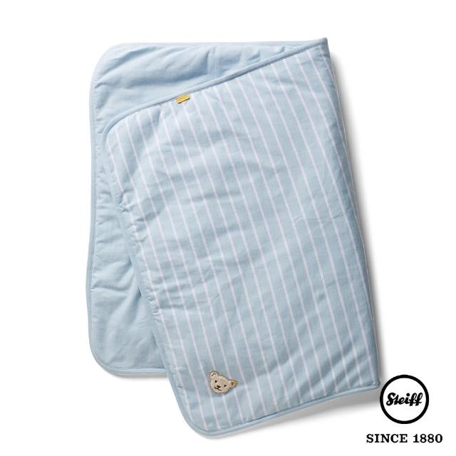 【STEIFF】泰迪熊 棉毯 被毯 寶寶毯(寢具)