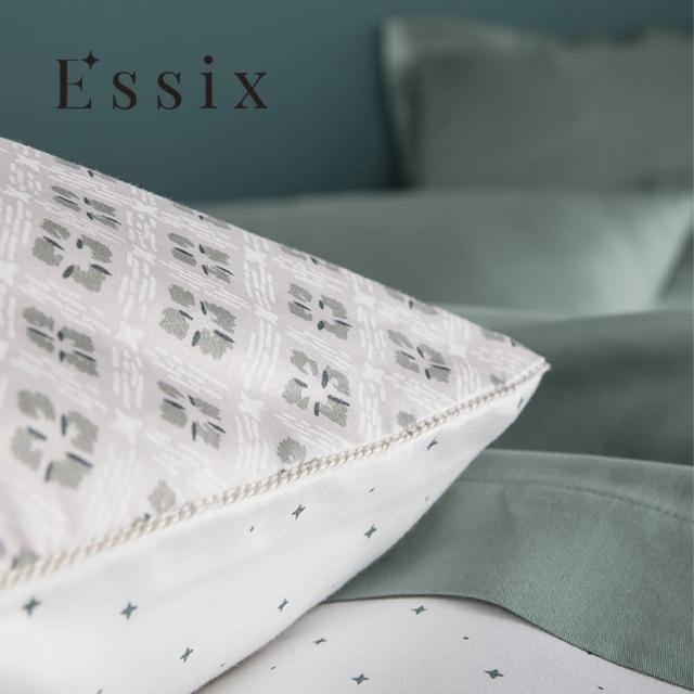 【ESSIX】100%長織綿印花枕套-天使花園(1入)