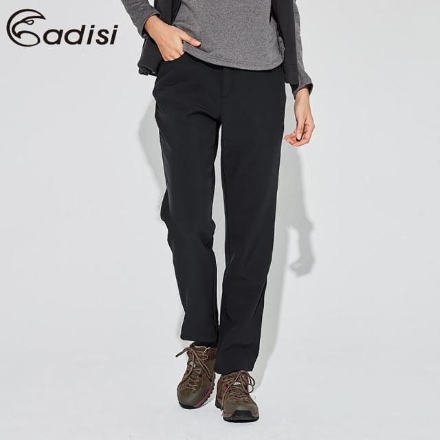 【ADISI】女Softshell超撥水高透氣保暖長褲AP1921053 / S-2XL(軟殼、刷毛、防潑水)