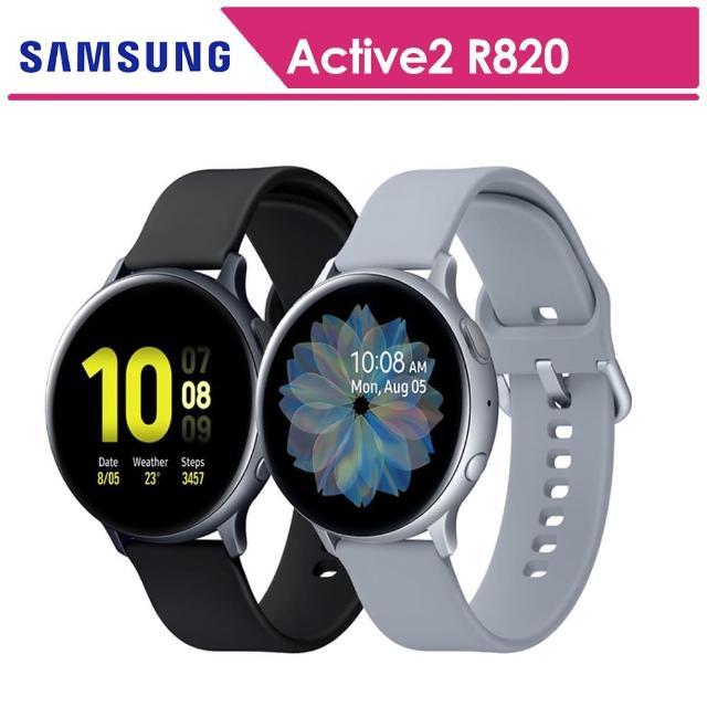【SAMSUNG 三星】Galaxy Watch Active2 鋁44mm智慧手錶手錶 SM-R820(送原廠錶帶+玻璃保貼等禮)