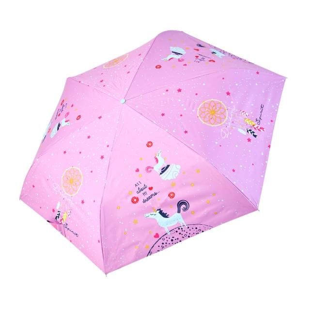 【rainstory】-8°降溫凍齡手開輕細口紅傘-夢幻獨角獸(遮光色膠系列)