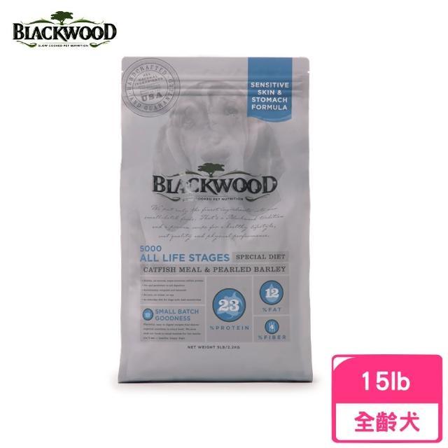 【BLACKWOOD 柏萊富】功能性全齡滋補養生配方(鯰魚+珍珠麥)15LB/6.8KG