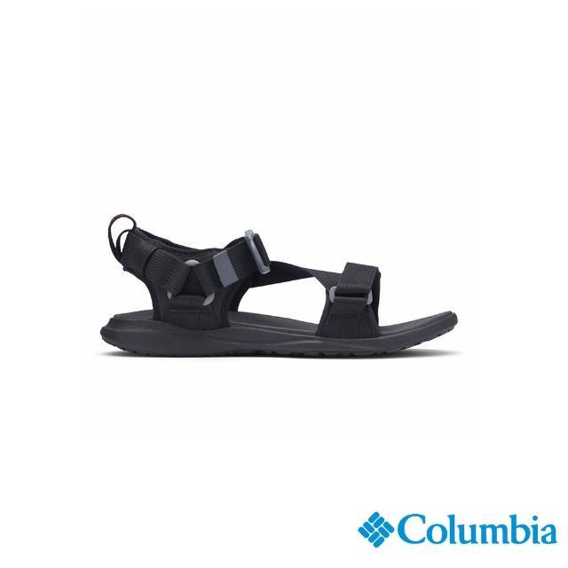 【Columbia 哥倫比亞】男款- 涼鞋-黑色(UBM01020BK / 越野.運動.輕便)