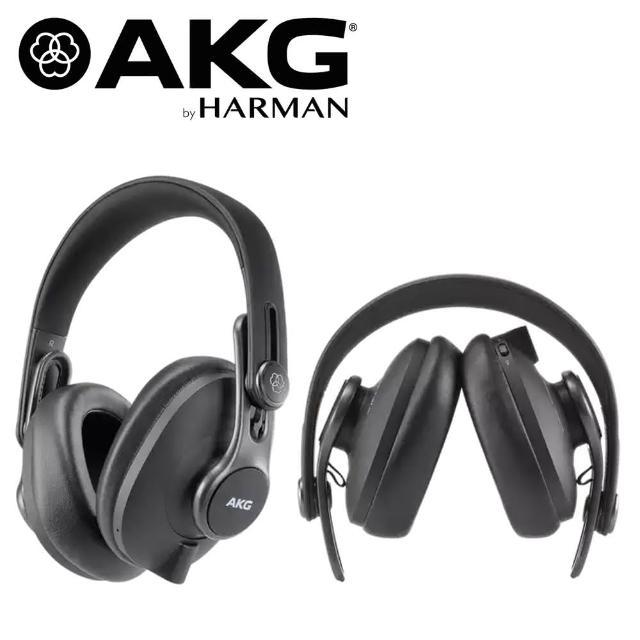 【AKG】K371BT 耳罩式 封閉式 可折疊錄音室耳機 藍牙耳機(公司貨原廠保固)