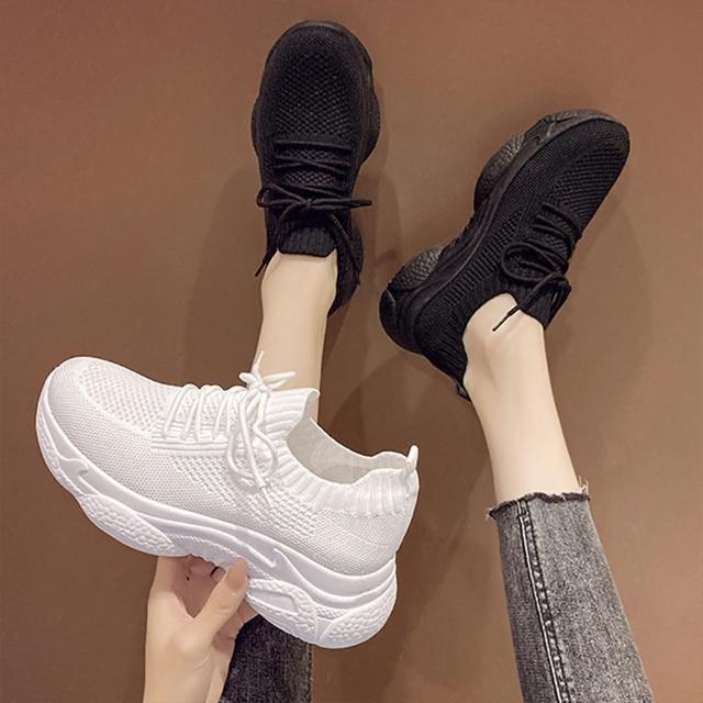 【K.W.】浪漫情人密語老爹鞋-輕量/運動鞋/休閒鞋(共2色)