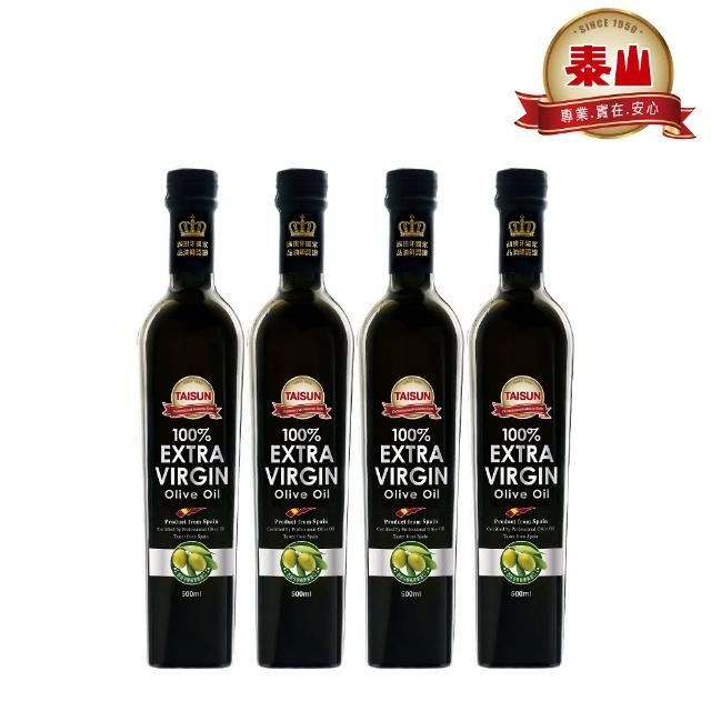 【泰山】第一道冷壓橄欖油(500ml x 4瓶)