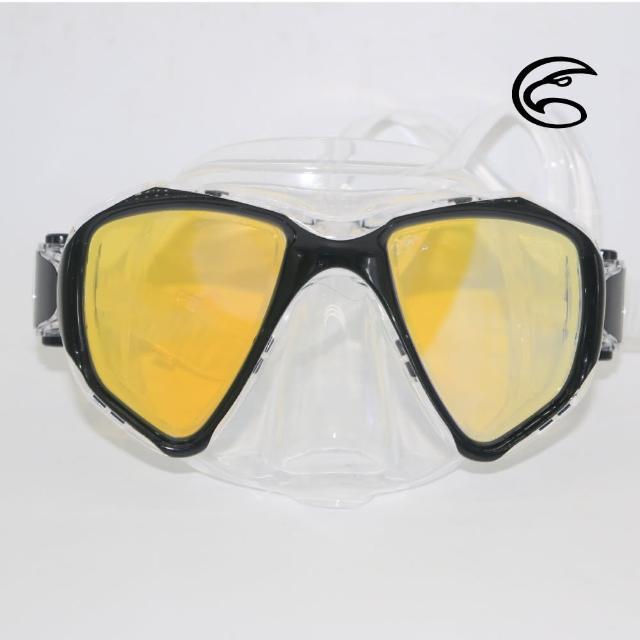 【ADISI】WM11 自由潛水雙眼抗反射面鏡 黑色(低容積面鏡、自由潛水、浮潛、面鏡、蛙鏡)
