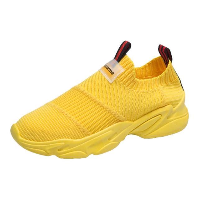 【Taroko】夢想空間飛織透氣厚底休閒鞋(4色可選)