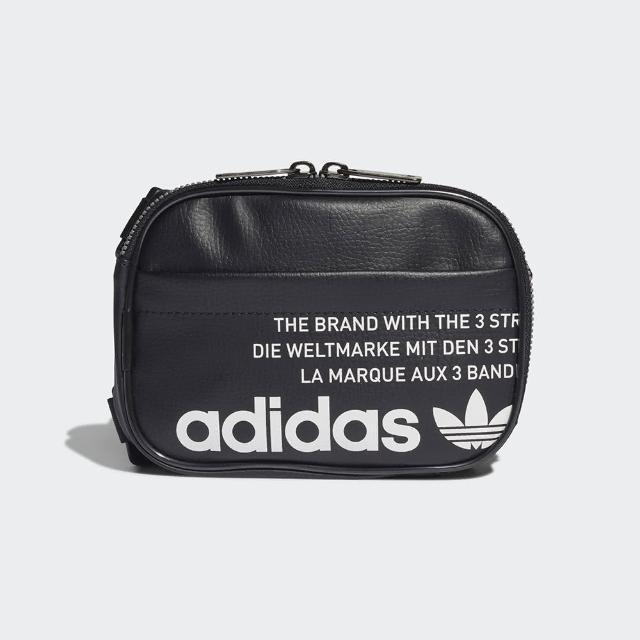 【adidas 愛迪達】FESTIVAL BAG 黑色 斜背包 小包(GN4448)