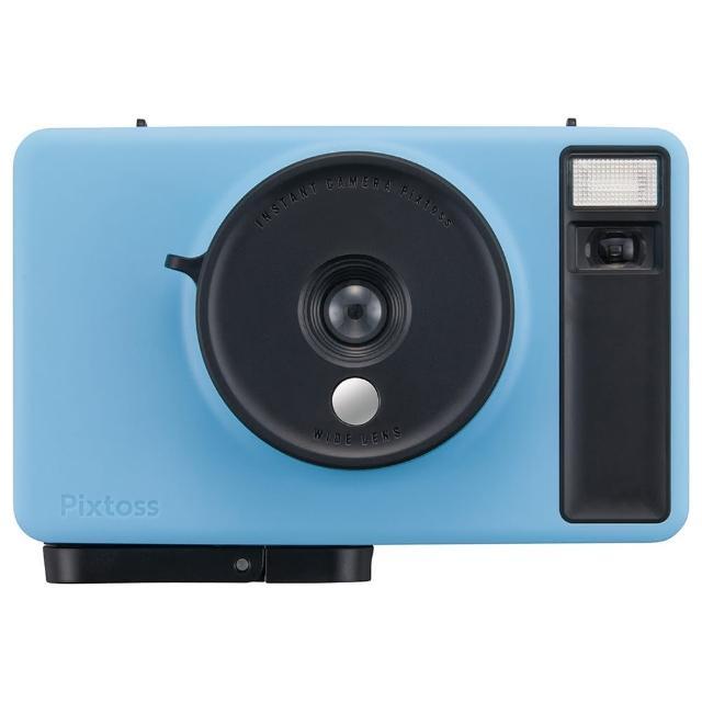 【TAKARA TOMY】Pixtoss 拍立得相機 藍(網紅 開箱)