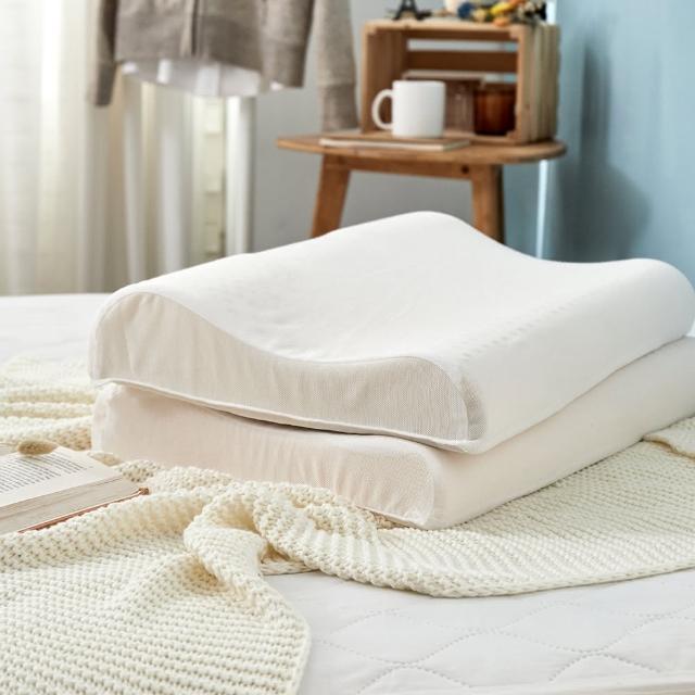 【DUYAN 竹漾】頸椎防護型人體工學乳膠枕