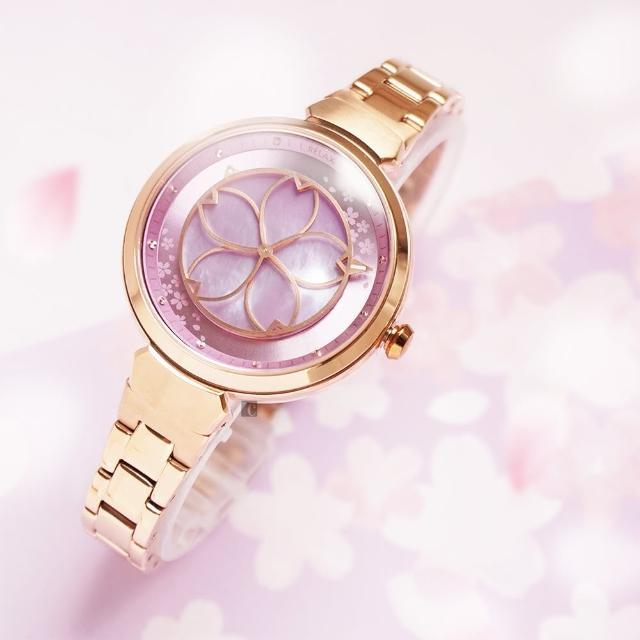 【Relax Time】年度設計錶款 綻放系列 櫻花手錶-粉紫(RT-72-6)