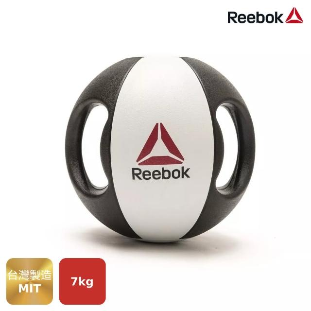 【REEBOK】雙握把藥球-7kg(一球練全身的魔力球)