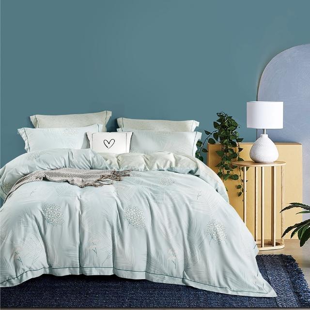 【情定巴黎】吸濕排汗萊賽爾天絲鋪棉/兩用被床包超值1+1雙床組(加大-一般/獨立筒皆適用)