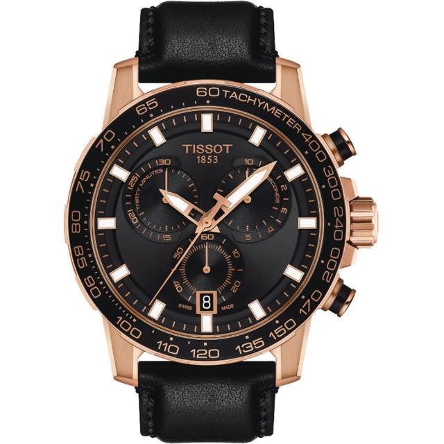 【TISSOT 天梭】Supersport 計時手錶-45.5mm(T1256173605100)