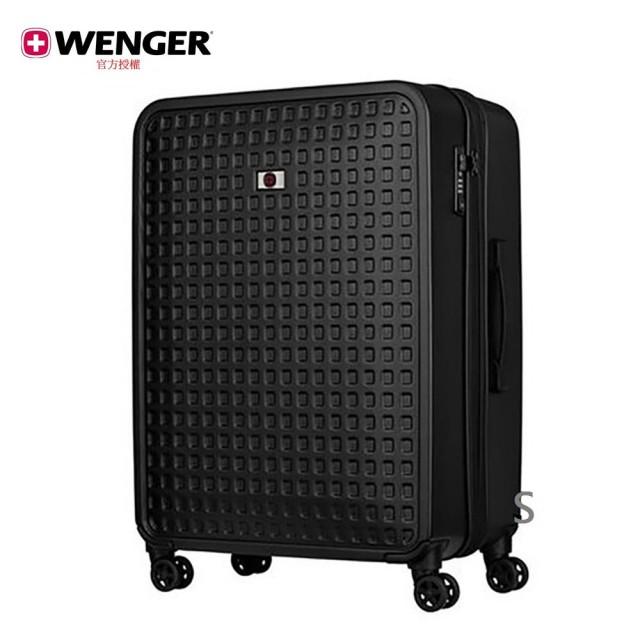 【WENGER 威戈】Matrix 28吋行李箱 /格子黑(604358)