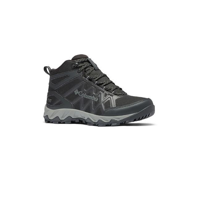 【Columbia 哥倫比亞】女款- Outdry 高筒健走鞋-黑色(UBL08280BK / 越野.運動.靴子)