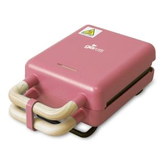 【Giaretti吉爾瑞帝】二合一熱壓三明治鬆餅機-玫瑰粉(GT-SW01)