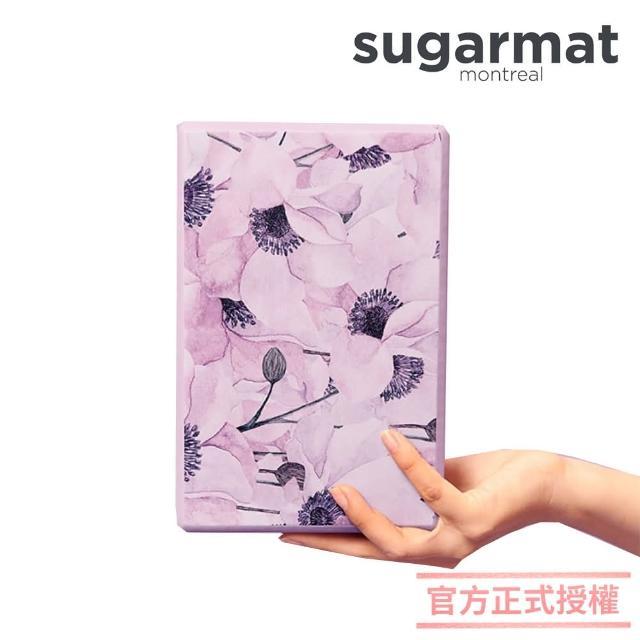 【加拿大Sugarmat】頂級瑜珈磚(薰染紫Yoga Block)