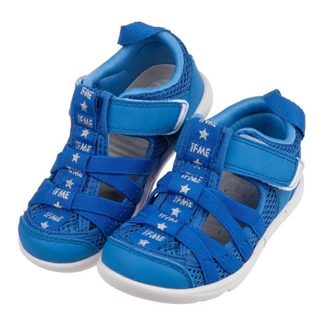 【布布童鞋】日本IFME天藍和風兒童機能水涼鞋(P1J501B)