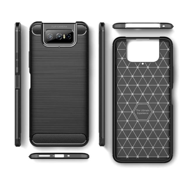 【PKG】ASUS Zenfone7/7Pro ZS670/671KL 手機殼(抗指紋-拉絲黑)