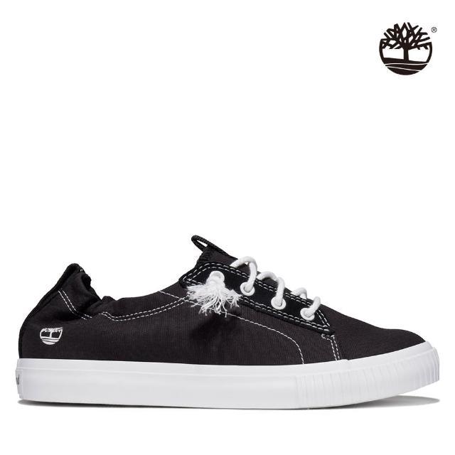 【Timberland】女款黑色Newport Bay帆布牛津鞋(A2GZM015)