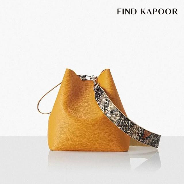 【FIND KAPOOR】PINGO 23 BASIC 系列 手提斜背水桶包- 芥末黃