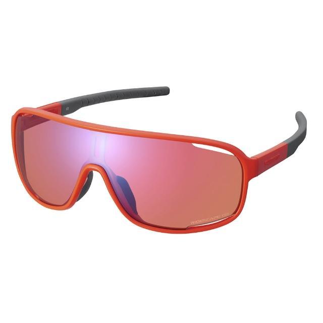 【SHIMANO】TECHNIUM RIDESCAPE OR 一片式太陽眼鏡 橘色
