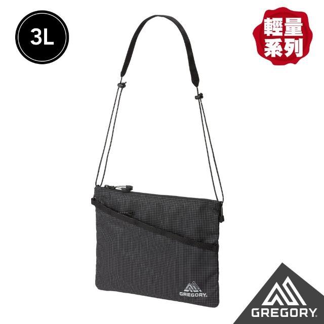 【Gregory】3L SACOCHE AL 輕量斜背包(黑)