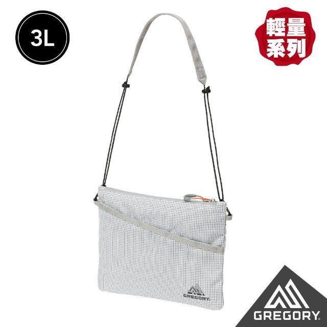 【Gregory】3L SACOCHE AL 輕量斜背包(時尚白)