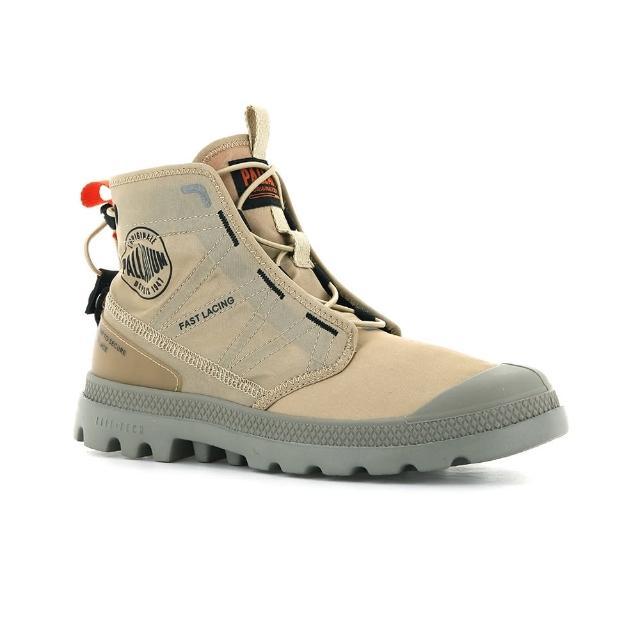 【Palladium】PAMPA TRAVEL LITE 卡其 橘 男女款 高筒靴(77039274)
