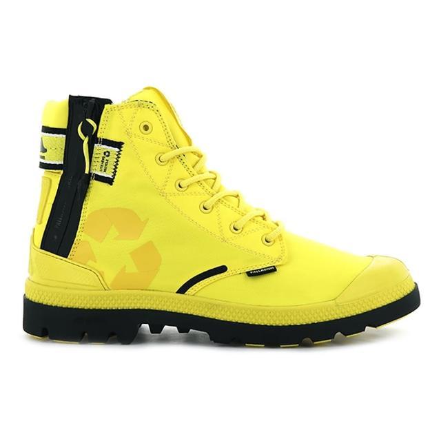 【Palladium】EVO LITE+ RCYCL 男鞋 黃色 防水輕量 雨鞋 環保 高筒靴(06655701)