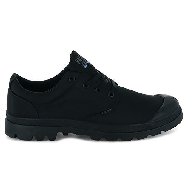【Palladium】PAMPA OX PUDDLE LITE+ WP+輕量防水鞋 中性 黑(76116001)