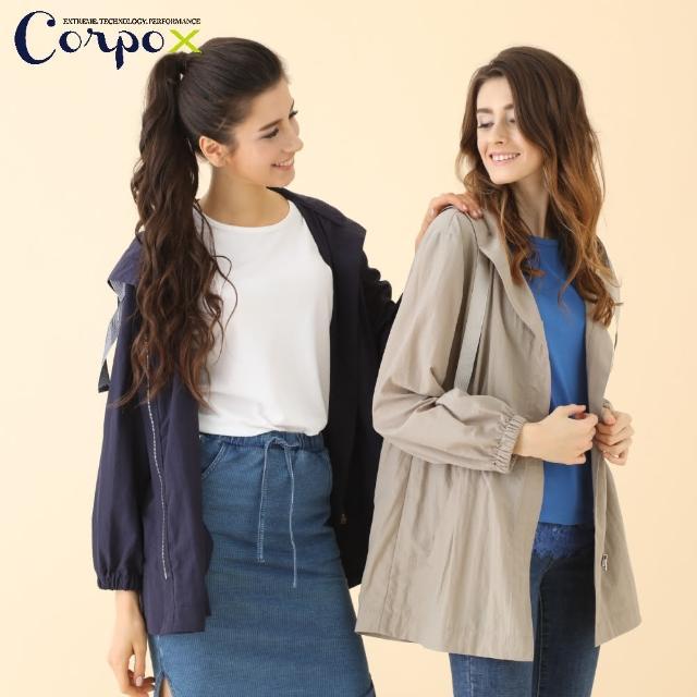 【Corpo X】女款薄風衣外套