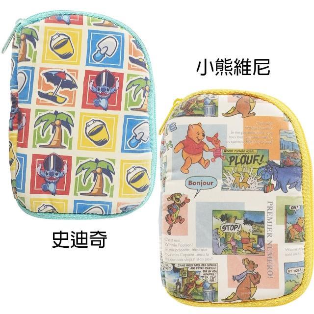 【TDL】迪士尼史迪奇小熊維尼零錢包飾品收納袋手機套卡套多功能收納包 651010/651034