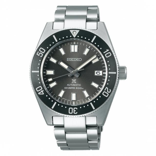 【SEIKO 精工】PROSPEX DIVER SCUBA 機械鋼帶黑水鬼錶40.5mm(SPB143J1/6R35-00P0N)