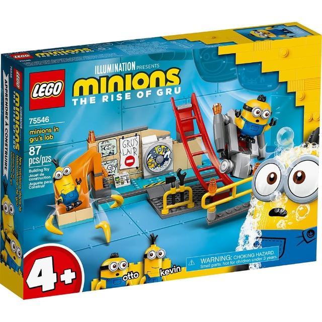 【LEGO 樂高】《 LT75546 》小小兵系列 -Minions in Gru s Lab(75546)