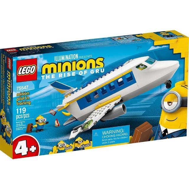 【LEGO 樂高】《 LT75547 》小小兵系列 -Minion Pilot in Training(75547)