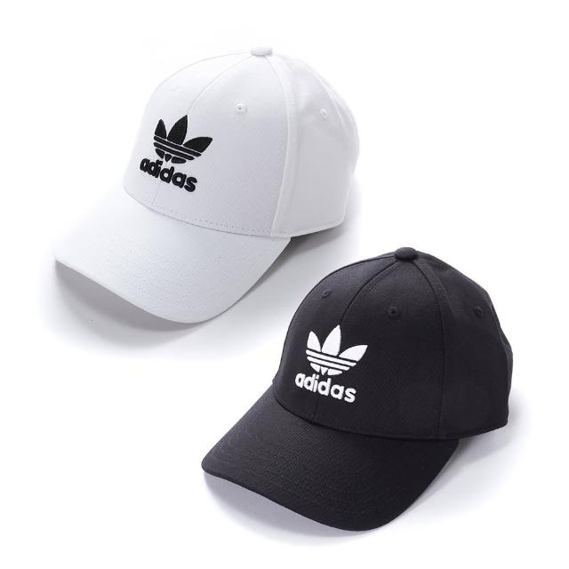 【adidas 愛迪達】BASEB CLASS TRE 棒球帽 運動帽 基本款 三葉LOGO(EC3603/ FJ2544兩色任選)