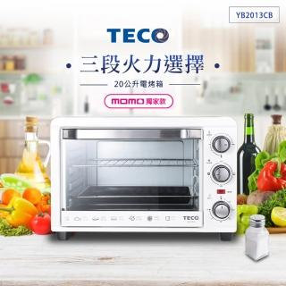 【TECO 東元】20L電烤箱 YB2013CB(質感白)