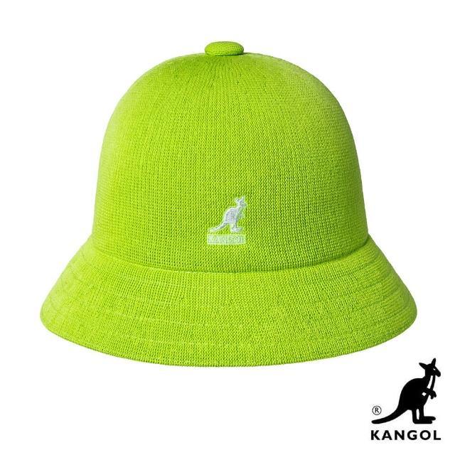 【KANGOL】TROPIC 鐘型帽(蘋果綠)