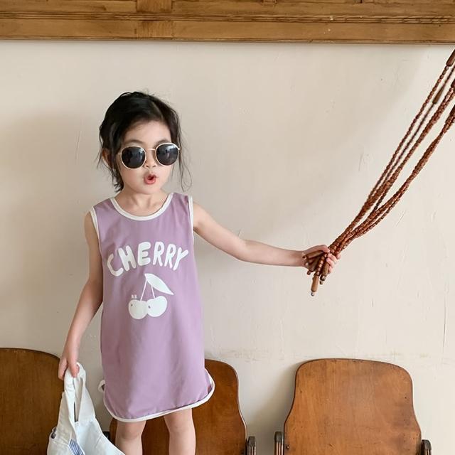 【Baby 童衣】女童長版上衣 運動無袖連身裙 88700(共1色)