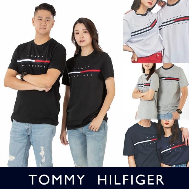 【Tommy Hilfiger】TOMMY 年度爆款LOGO短袖圖案T恤-多色組合(可搭情侶款/ 男友風格/ 無性別Oversize穿搭)