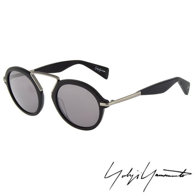 【Y-3 山本耀司】日本黑色匠人精神個性太陽眼鏡(-黑/灰-YY5009-019)