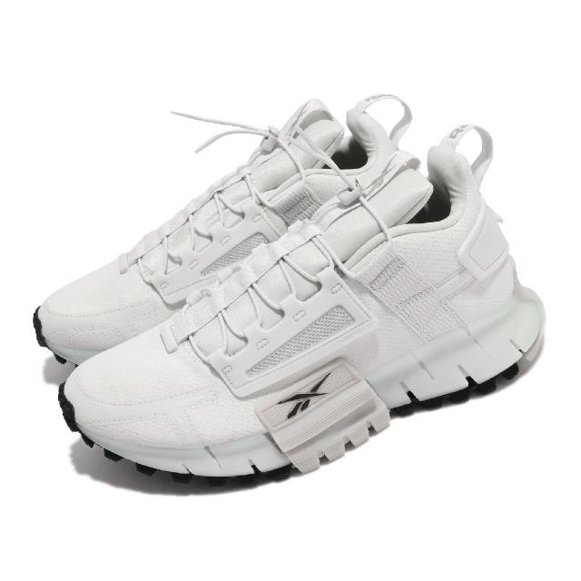 【REEBOK】慢跑鞋 Zig Kinetica Edge 男鞋 海外限定 輕量 透氣 運動 反光 球鞋 灰 黑(FV3837)