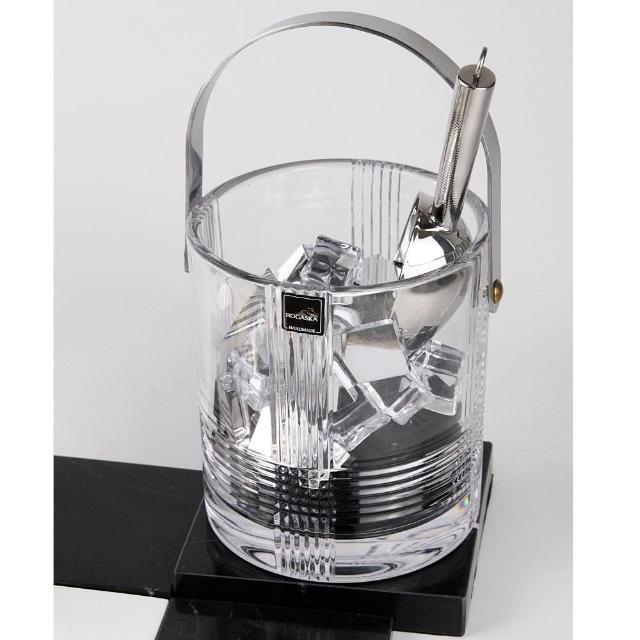 【ROGASKA 盧斯卡】英倫雅仕-水晶手工冰桶-歐洲百年工藝時尚冰桶(威士忌酒壺禮盒/香檳器皿/烈酒冰桶)